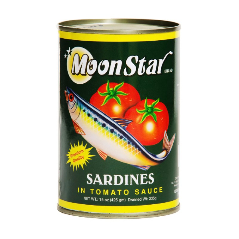 Sardines In Tomato Sauce - Moon Star