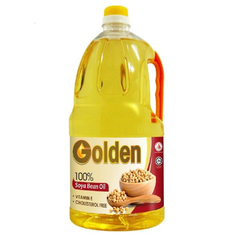 Soya Bean 100% Oil - Golden