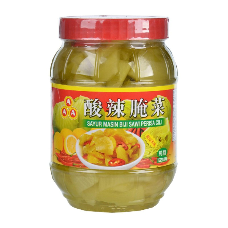 Sour Pickled Mustard with Chilli 酸辣腌菜 - AAA Brand