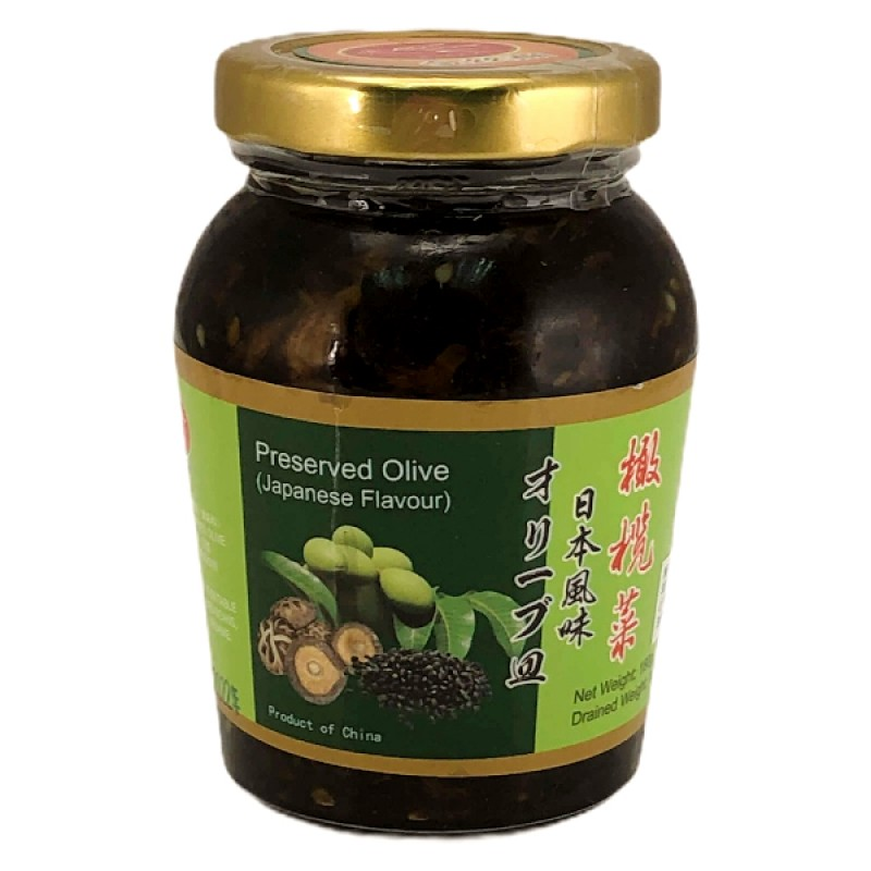 Preserved Olive Japanese Flavour (日本橄榄菜) - Jin Si Yan