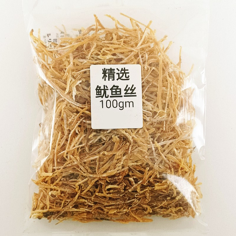 Premium Dried Cuttlefish Shredded (鱿鱼丝)