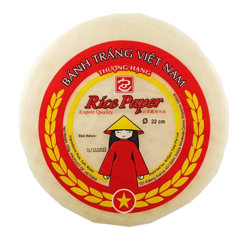 Vietnamese Round Rice Paper - Ah Pau Chop