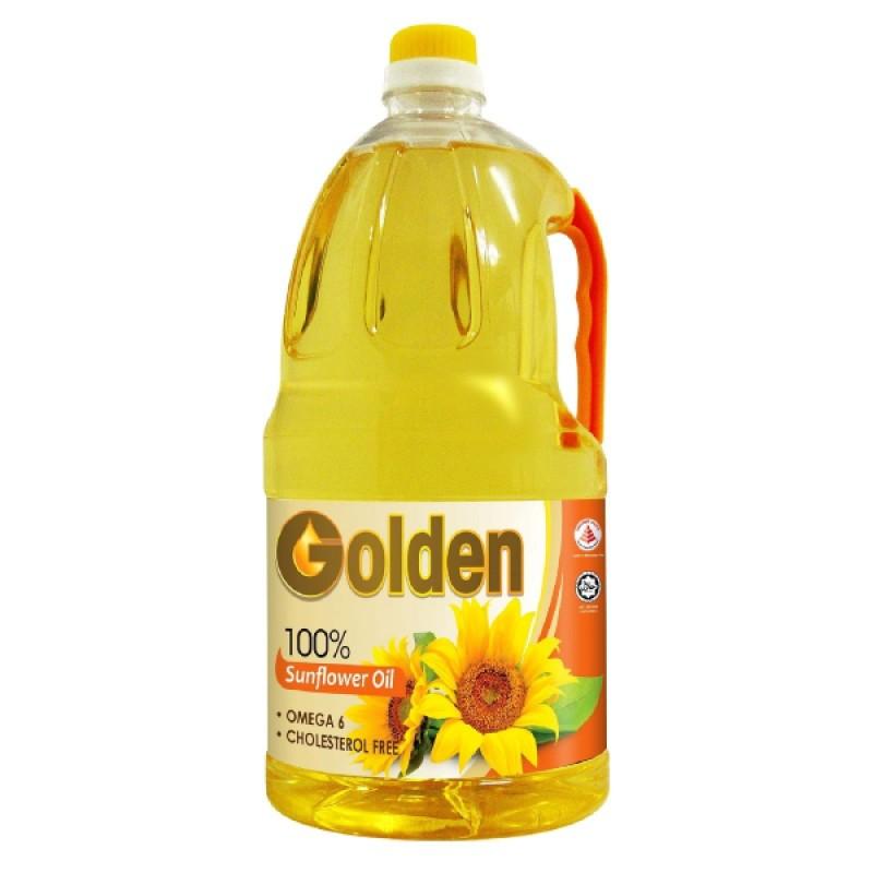 Sunflower Oil Pure 100% - Golden