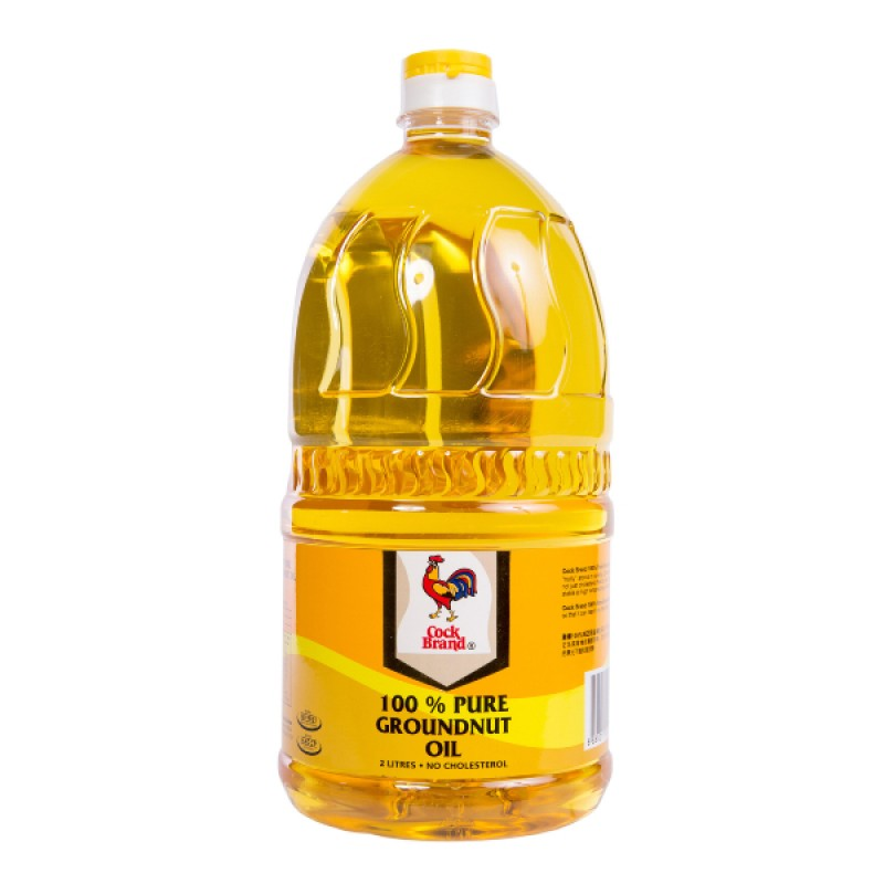 Pure Groundnut Oil 100% - Cock Brand