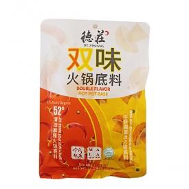 DeZhuang Double Flavour Hot Pot Spicy & Porcini Mushroom Base