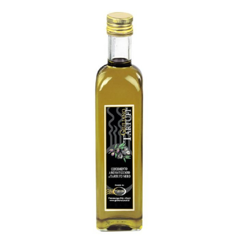 Tartufi Black Truffle Infused Extra Virgin Olive Oil - Guiliano