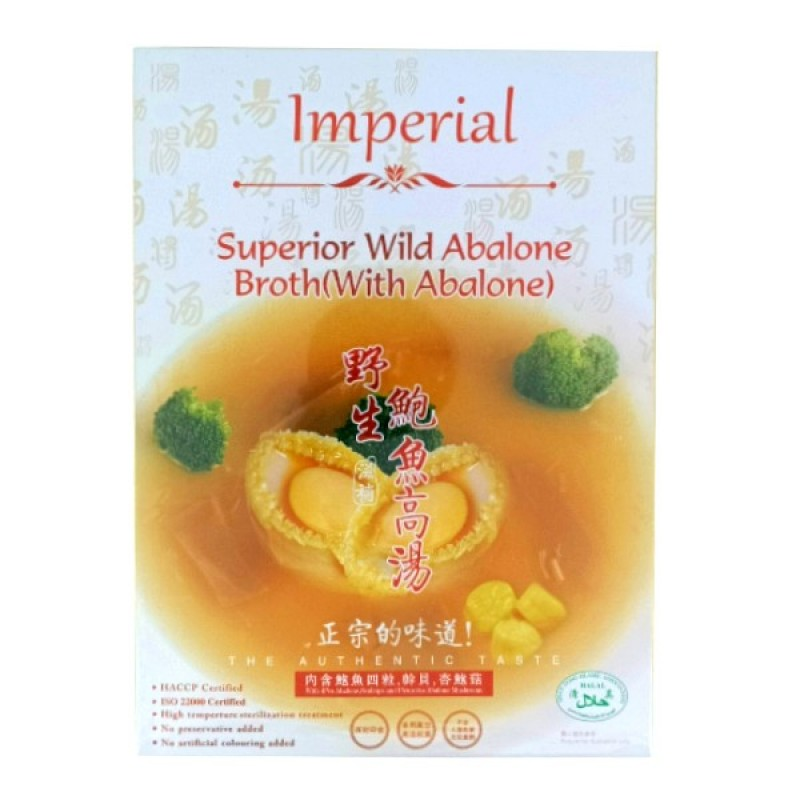 Superior Wild Abalone Broth( with Abalone) - Imperial