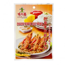 Ajishan Pepper Salt Prawn with Cereal