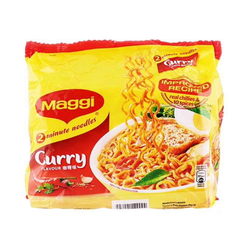 Instant Noodle, Curry Flavour - Maggi