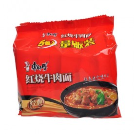 Kang Shi Fu Roasted Beef Instant Noodle
