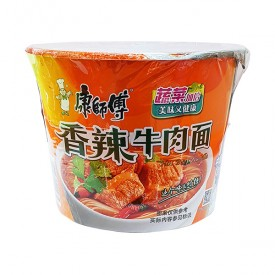 Kang Shi Fu Hot Beef Instant Noodle Bowl