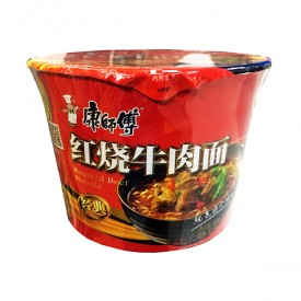 Kang Shi Fu Roasted Beef Instant Noodle Bowl