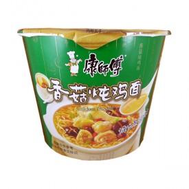 Kang Shi Fu Chicken Mushroom Instant Noodle Bowl