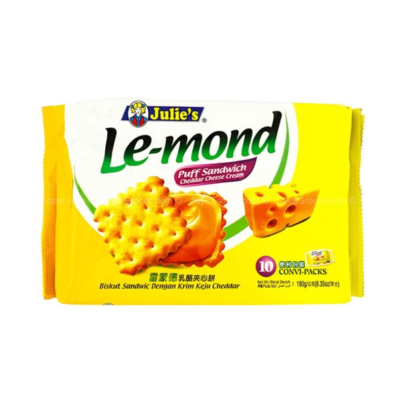 Sandwich, Lemond Puff  Cheddar Cheese Cream - Julie's