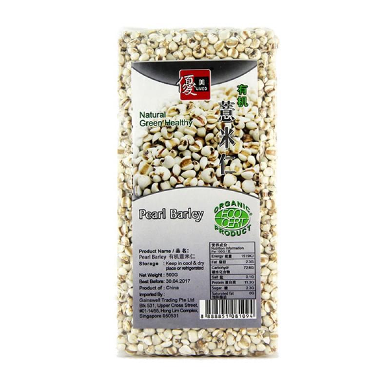 Pearl Barley, Organic - Umed