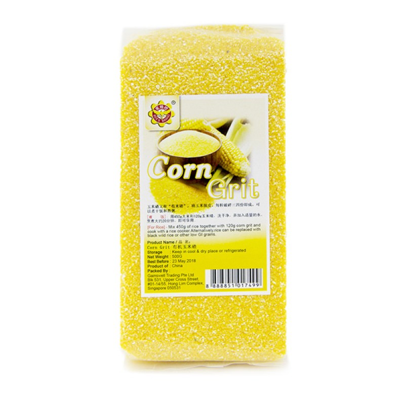Corn Grit, Organic - Bee's Brand