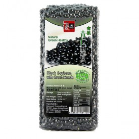 Umed Organic Black Soybean with Green Kernels