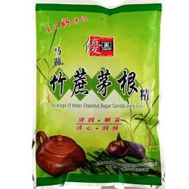 Water Chestnut, Sugar Cane & Lalang Grass Drink Recipe (马蹄竹蔗茅根精) - Umed