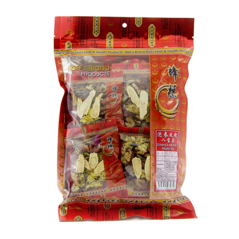Ginseng and Rose Buds Health Tea - Bee's Brand