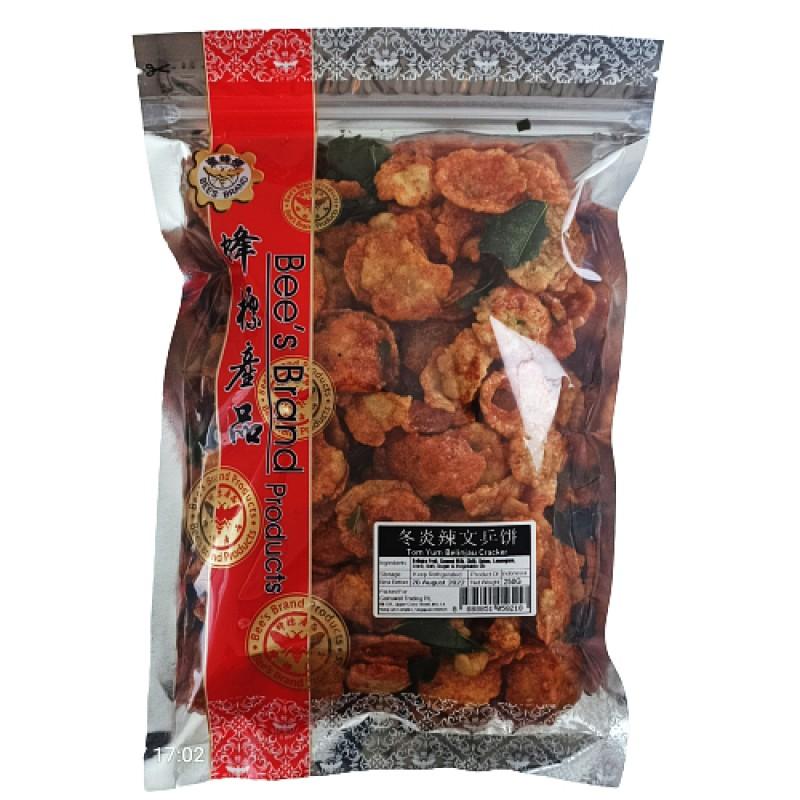 Tom Yum Belinjau Cracker - Bee's Brand