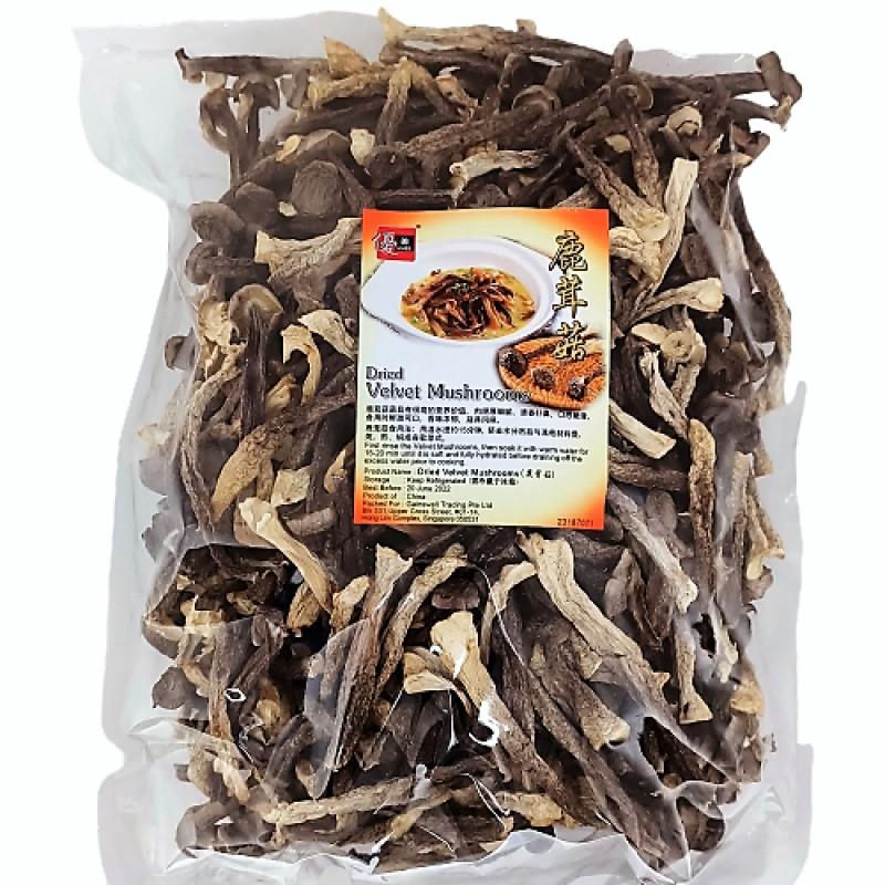 Dried Velvet Mushroom 鹿茸菇 - Umed