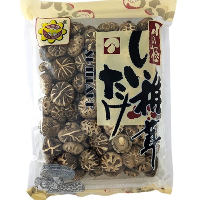 Shiitake Dried Mushroom (2-3cm) 椴木百花菇 - Bee's Brand