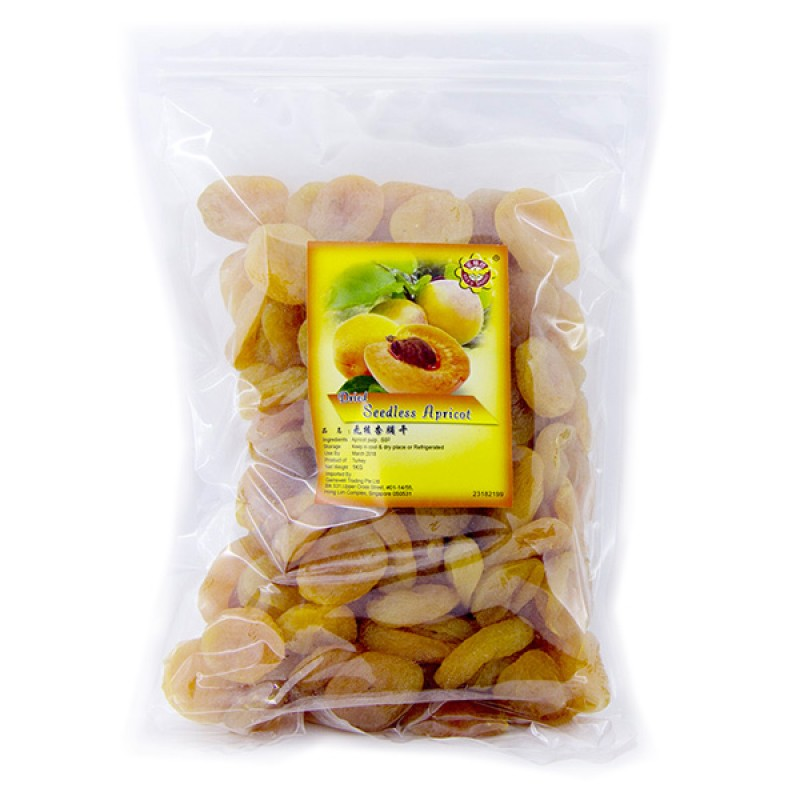 Apricot, Seedless Dried - Bee's Brand