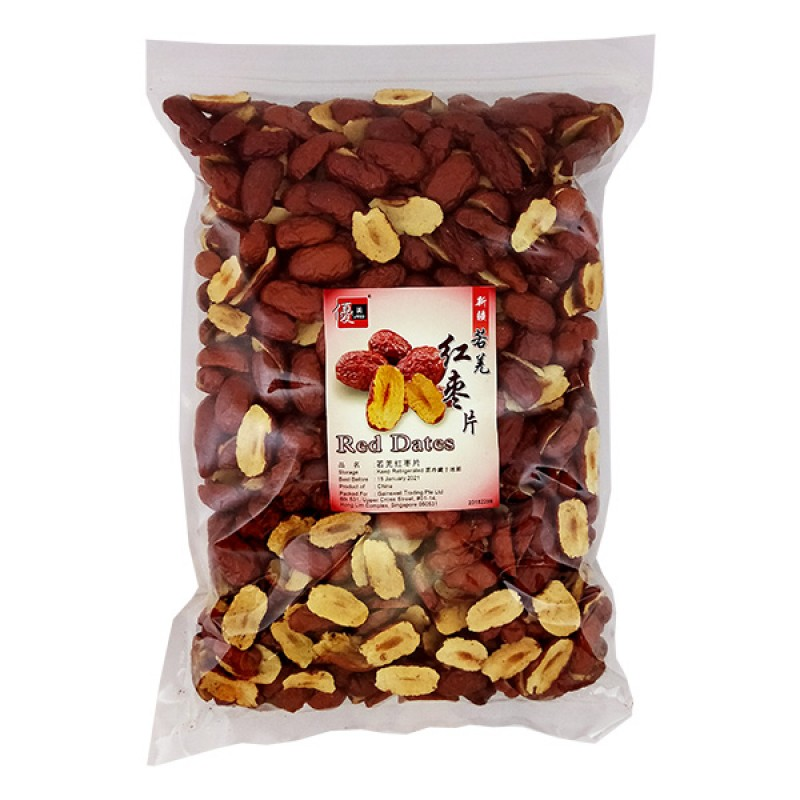 Red Dates, Dried Sliced - Umed