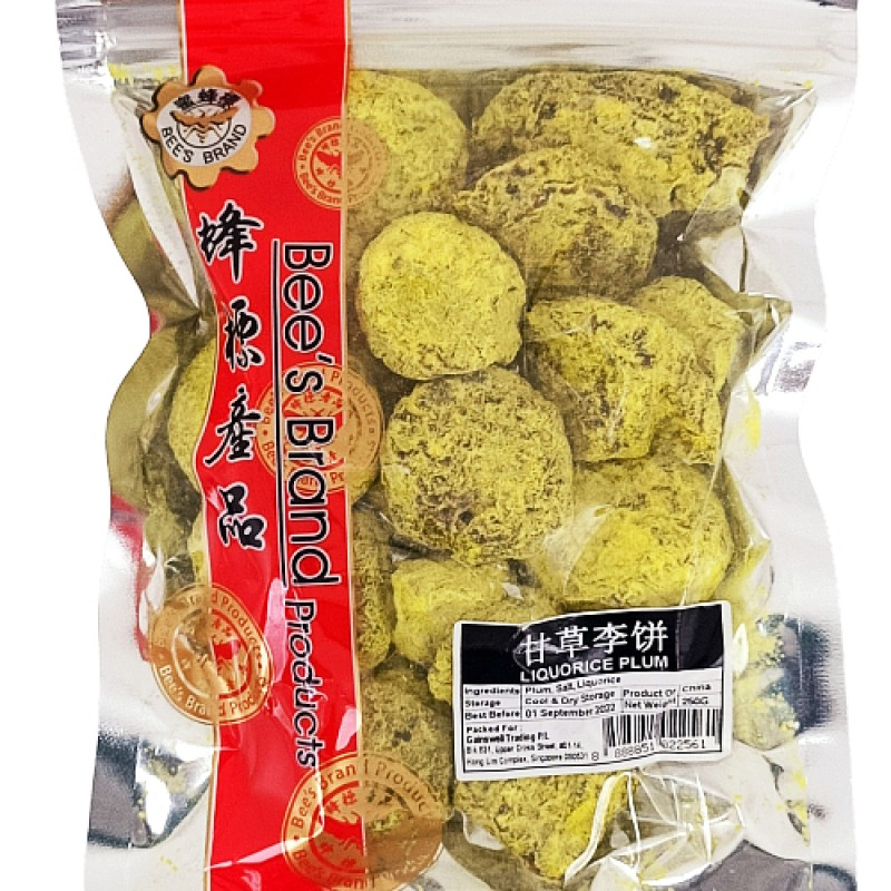 Licorice Plum (甘草李饼) - Bee's Brand