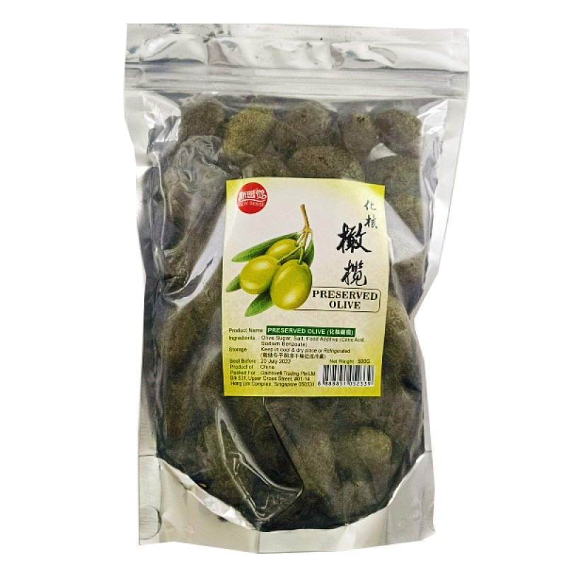 Preserved Olive (腌橄榄) - Bee's Brand