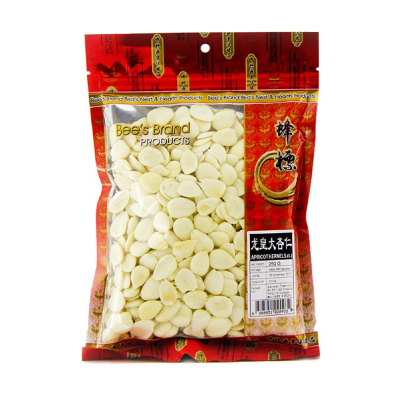 Apricot Kernels (Sweet), Large - Bee's Brand