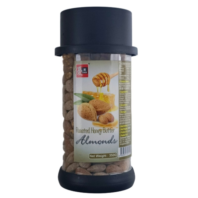 Roasted Honey Butter Almonds - Umed