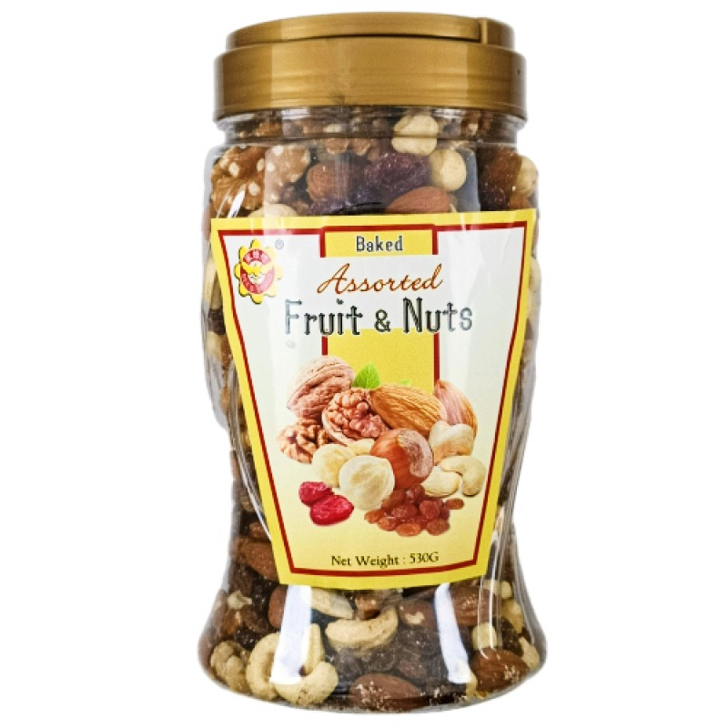 Baked Assorted Fruit and Nuts - Bee's Brand