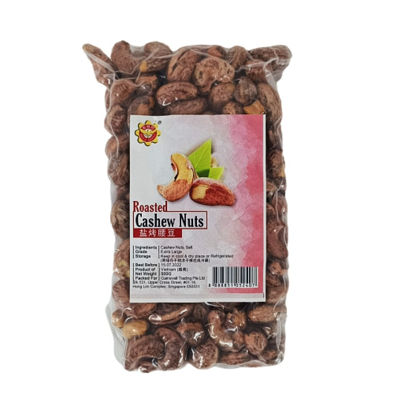 Roasted Cashew Nuts - Bee's Brand