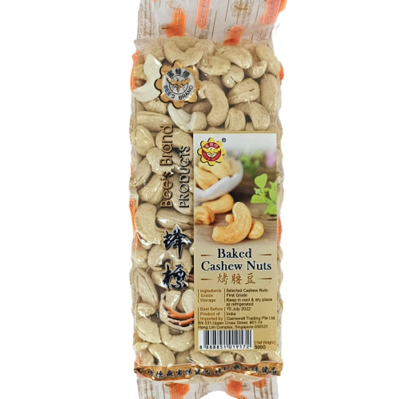 Baked Cashew Nuts - Bee's Brand