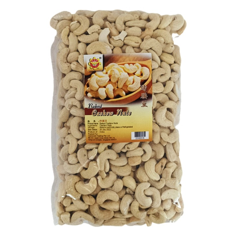 Baked Cashew Nuts (Large) - Bee's Brand