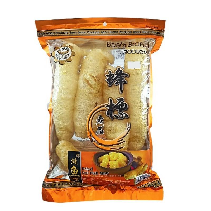 Fried Eel Fish Maw (Large) - Bee's Brand