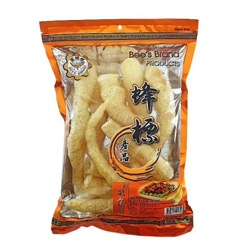Fried Eel Fish Maw (Medium) - Bee's Brand