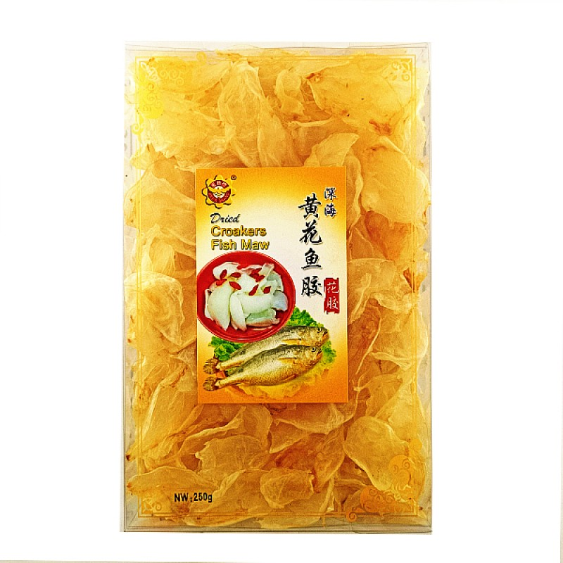 Dried Croakers Fish Maw (黄花鱼鳔)- Bee's Brand