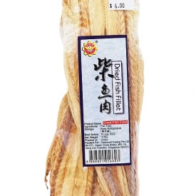 Dried Fish Fillet (柴鱼肉) - Bee's Brand