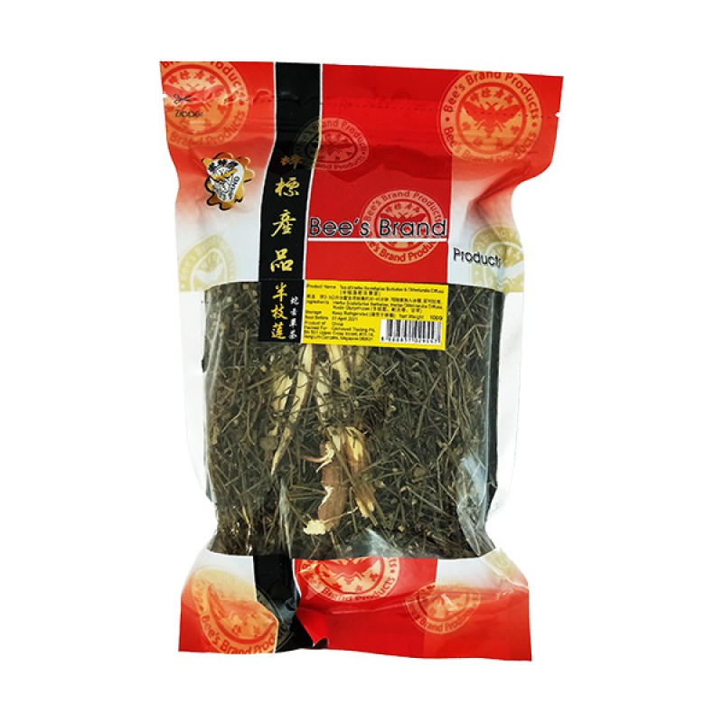 Herba Scutellariae Barbatae & Oldenlandia Diffusa Tea - Bee's Brand