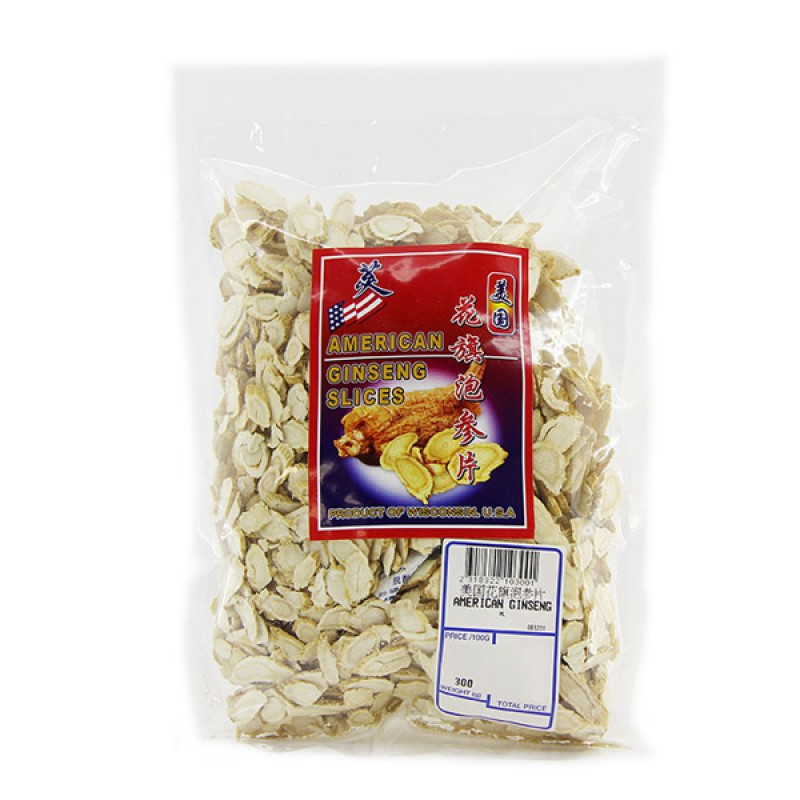 America Ginseng Slices (Large) - Gainswell