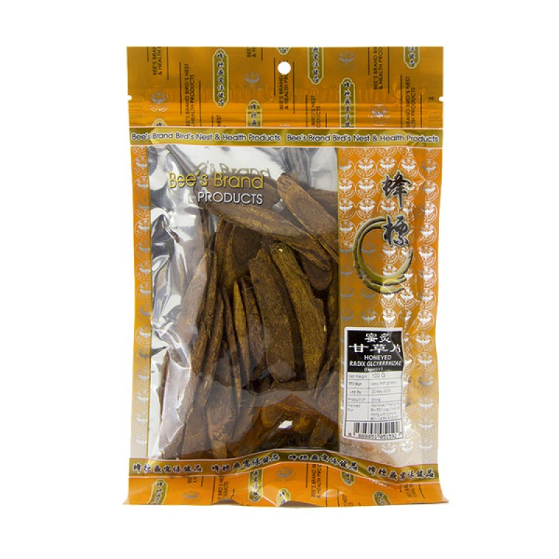 Licorice Slices, Honeyed 甘草片 - Bee's Brand
