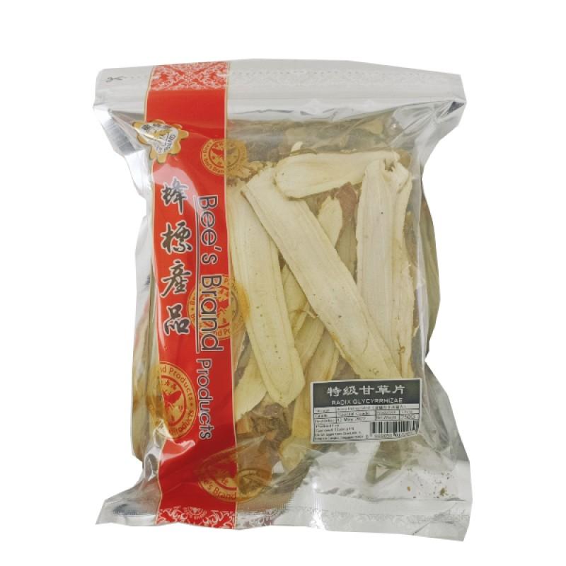 Licorice Slices 甘草片 - Bee's Brand