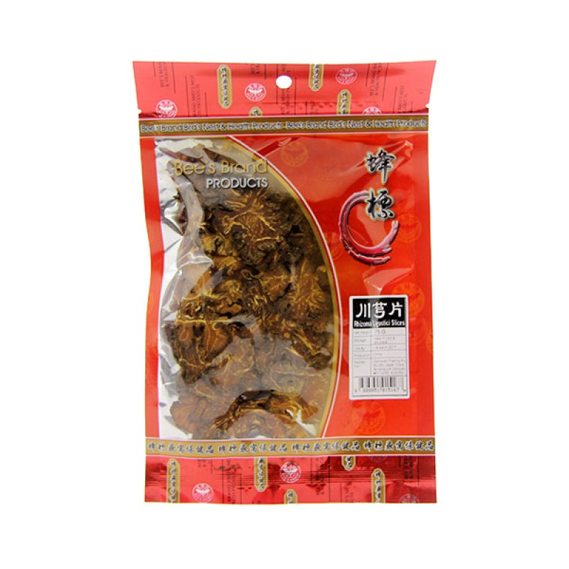 Sichuan Lovage (Chuan Xiong) Slices - Bee's Brand