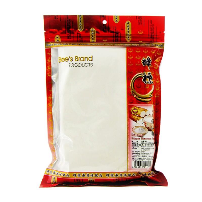 Chinese Yam Powder, Dehydrated 淮山 - Bee's Brand