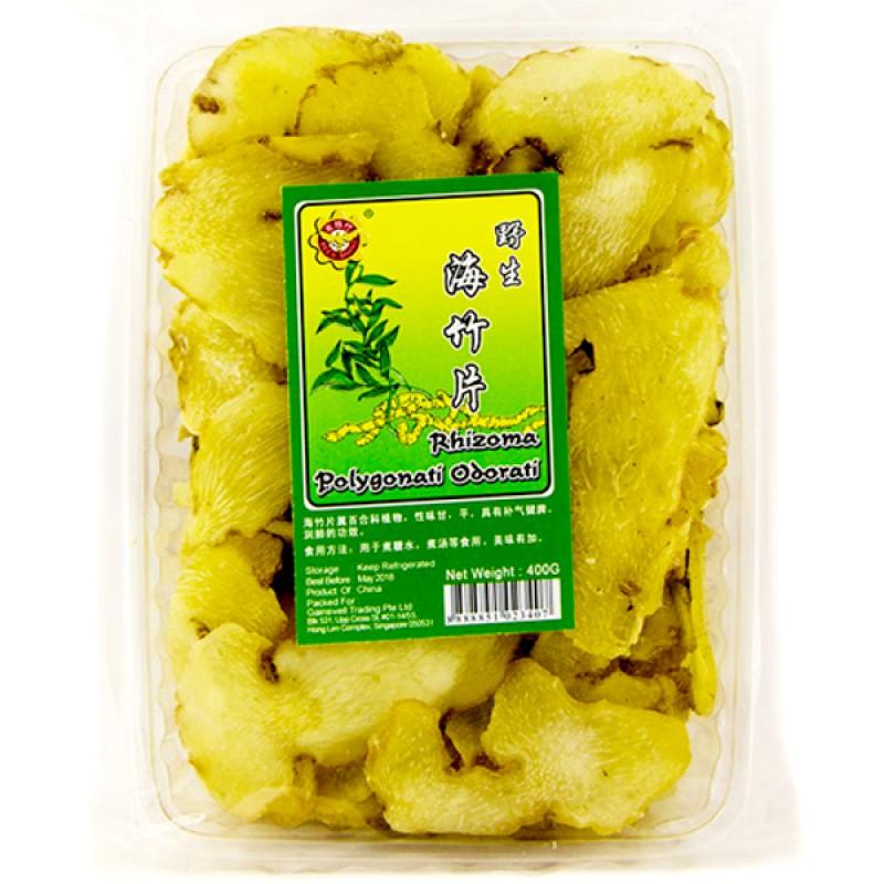 Wild Solomon's Seal Rhizome Slices (黄精, 海玉竹) - Bee's Brand