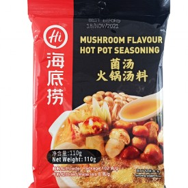 Hai Di Lao 海底捞 Mushroom Flavour Hot Pot Seasoning 菌汤火锅汤料