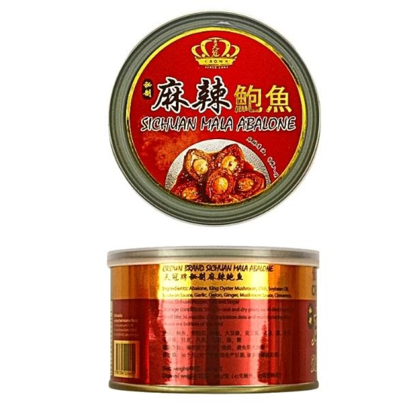 Sichuan Mala Abalone - Crown Brand