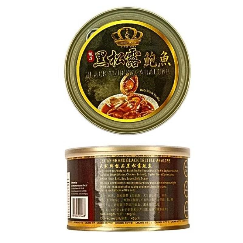 Black Truffle Abalone - Crown Brand